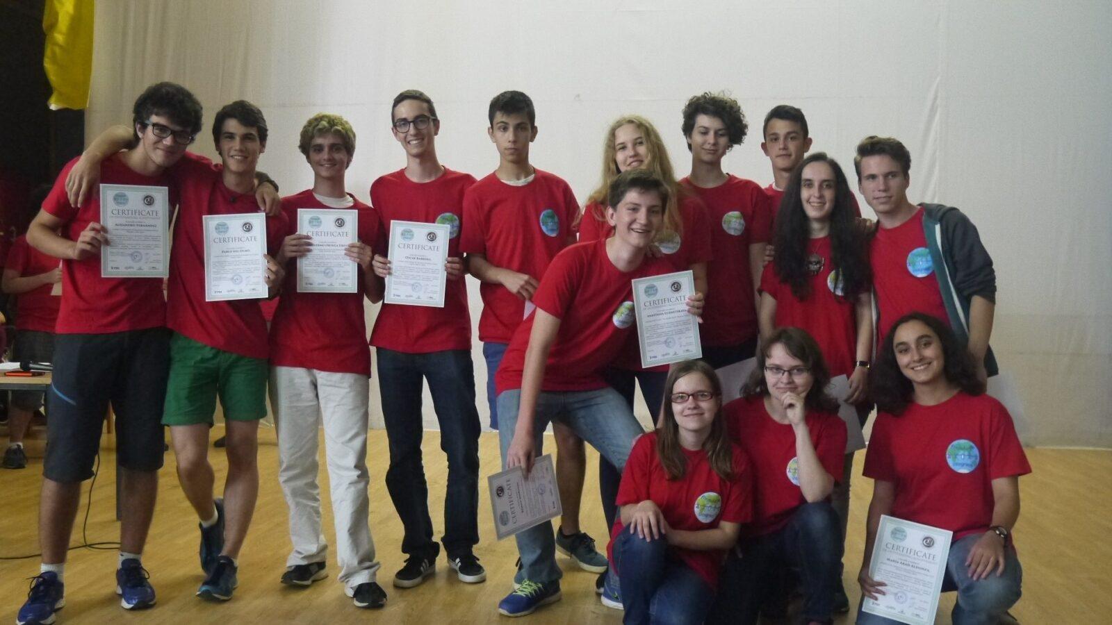 Группа математиков летом 2016