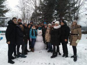 Зимняя смена в Гарболово