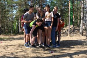 International camp in Orekhovo
