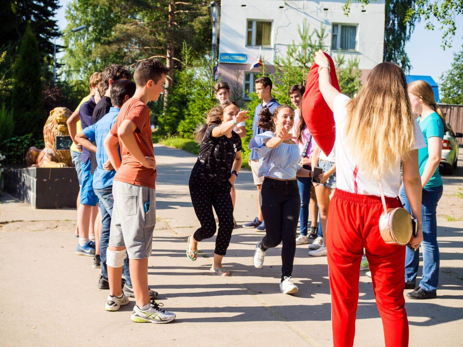 International camp in Garbolovo
