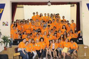 International Camp in Academic Gymnasium