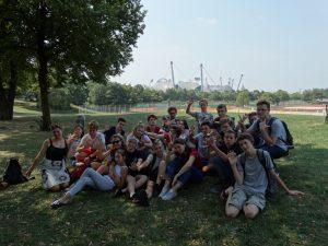 International camp in Munich, Germany